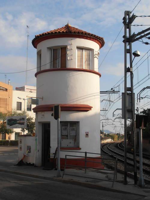 Torre Guardabarreras de l'Associació Ferroviària de Godella