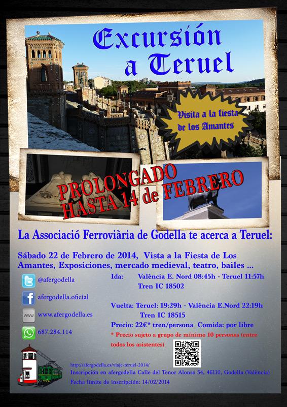 Excursión Fiesta de los Amantes de Teruel 22 Febrero 2014