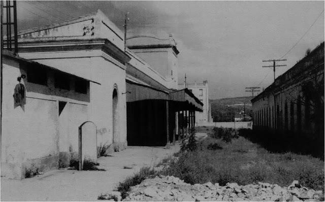 Antigua estación del Carcaixent-Dénia, ya en desuso