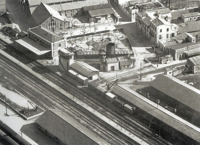 Vista de la estación de enlace Renfe-Feve en Carcaixent