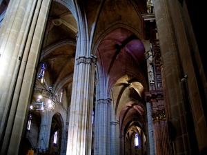Interior de la Catedral de Tortosa