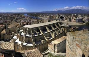 Tortosa vista desde el Castell de la Suda