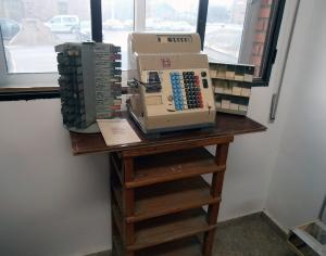 Máquina impresión billetes Hugin
