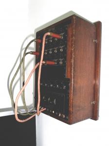 Centralita telefónica de puesto de mando