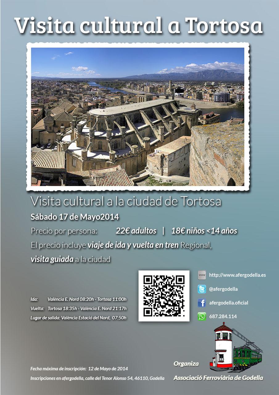 Viaje Cultural en tren a Tortosa