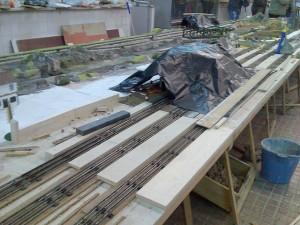 Construcción de la maqueta de escala 0