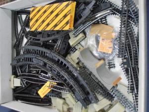 Vías de Ibertren 3N, para reparaciones y sustituciones